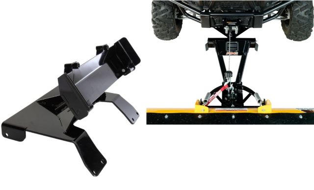 Moose Snow Plow Plate & Frame Mount Kit for 14-17 Honda Pioneer 700 700-4