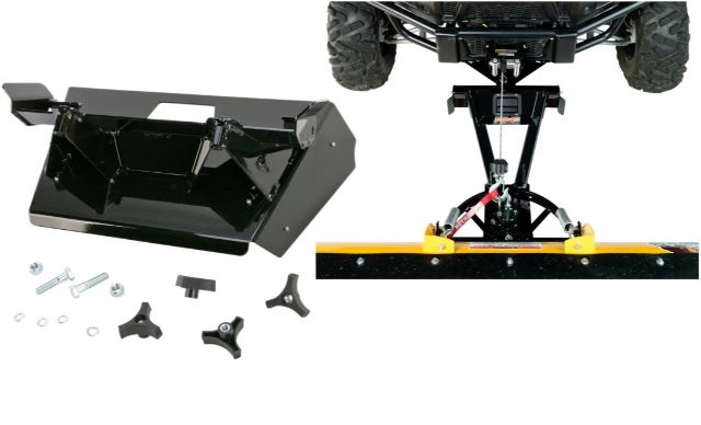 Moose Snow Plow Plate & Frame Mount Kit for 09-18 Polaris Ranger