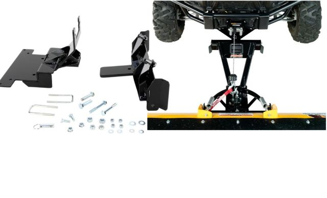 Moose Snow Plow Plate & Frame Mount Kit for 14-18 Yamaha Viking 700 4x4 ESP VI