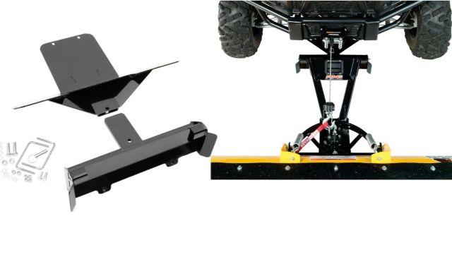 Moose Snow Plow Plate & Frame Mount Kit for 15-18 Kawasaki Mule Pro 1000 800