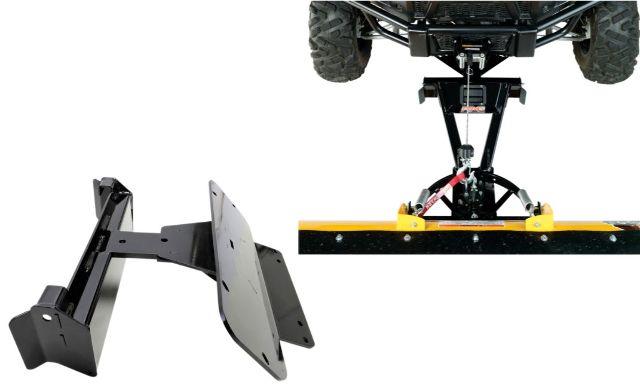 Moose Snow Plow Plate & Frame Mount Kit for 2017 Kawasaki 400 Mule SX 4x4