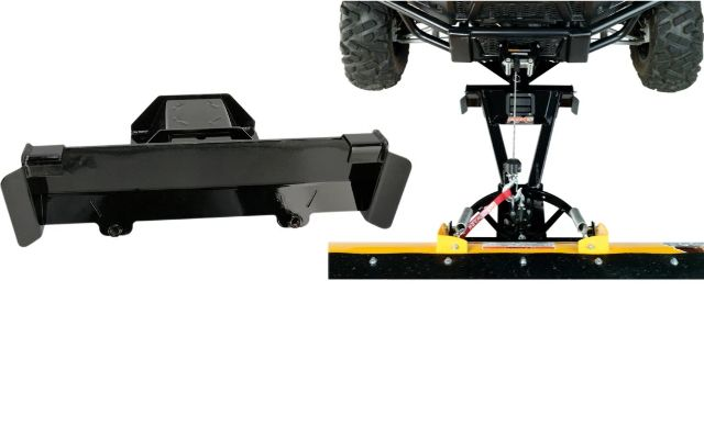 Moose Snow Plow Plate & Frame Mount Kit for 12-18 Kawasaki KRF Teryx 750 800