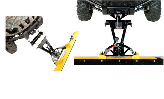 Moose Snow Plow Plate & Frame Mount Kit for 08-13 Yamaha YXR 700FI Rhino 4x4