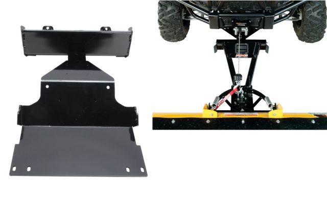 Moose Snow Plow Plate & Frame Mount Kit for 15-17 Honda Pioneer 500