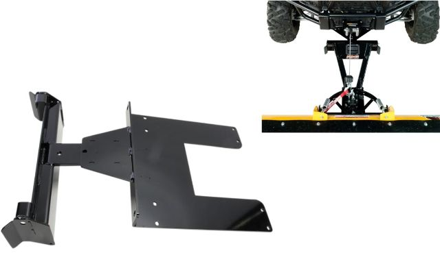 Moose Snow Plow Plate & Frame Mount Kit for 2016-2017 Arctic Cat Prowler 500 700