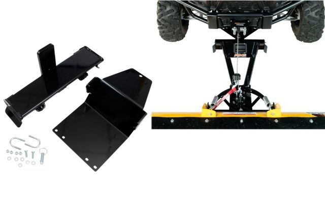 Moose Snow Plow Plate & Frame Mount Kit for 2017 CF Moto Z-Force 500 800