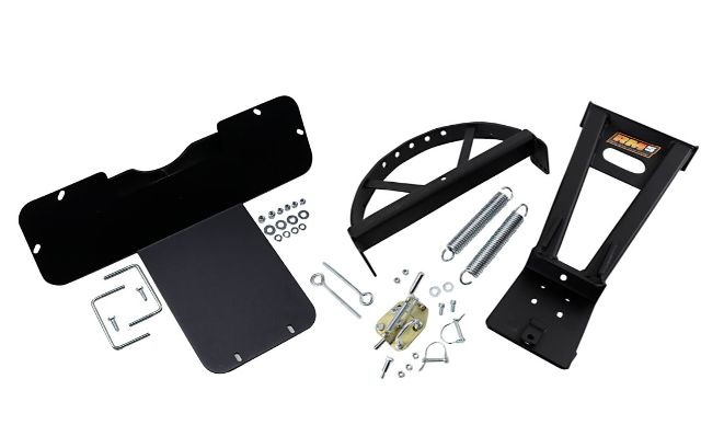 Moose Utility Black RM5 UTV Snow Plow Mounting Kit 15-19 Kawasaki Mule Pro 800