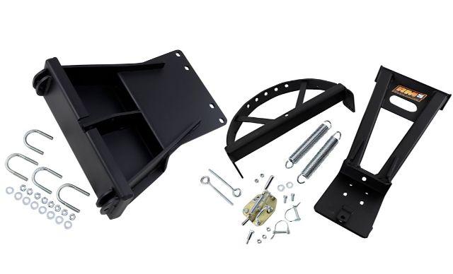 Moose Utility RM5 Black Snow Plow Mounting Plate Kit 18-19 Yamaha YFM Kodiak 450