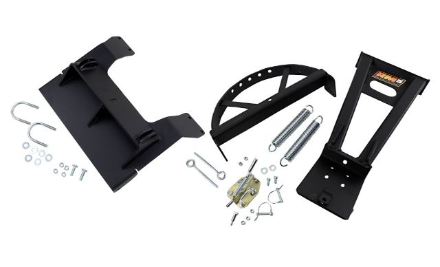 Moose Utility Black RM5 UTV Snow Plow Mounting Kit 14-19 Honda Pioneer 700