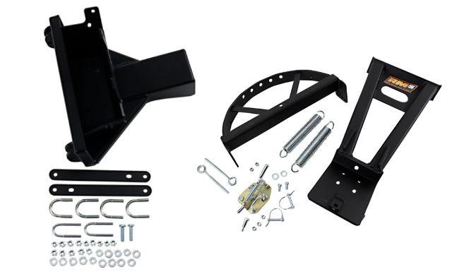 Moose Utility Black RM5 Snow Plow Mounting Kit 08-19 Kawasaki Brute Force 4x4i
