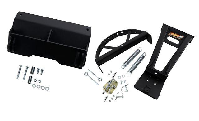 Moose Utility Black RM5 UTV Snow Plow Mounting Kit 05-20 Can-Am Defender 1000