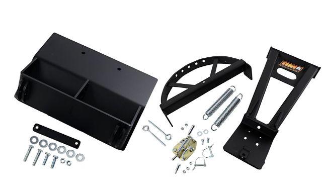 Moose Utility Black RM5 UTV Snow Plow Mounting Kit 2019 Kawasaki 695 Mule Pro MX