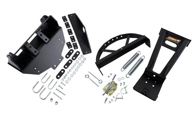 Moose Utility RM5 Black ATV Snow Plow Mounting Kit 16-19 Polaris Sportsman