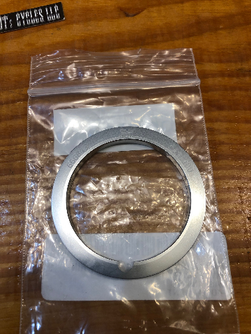"""Twin Power Aluminum Front Brake Rotor 2.25"""" to 2"""" Adapter Ring for Harley"""