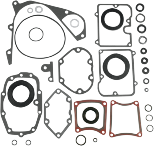 James Gasket Transmission Gasket Seals O Ring Kit 84-00 Harley FXR FLHT FLST