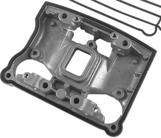 James Gasket Single Rubber Lower Rocker Box Gasket 84-91 Harley Touring Softail