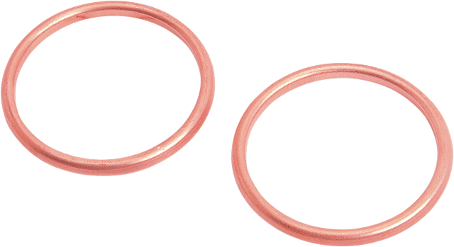 Drag Specialties Pair Copper Exhaust Gaskets 66-84 Harley Touring FXR FXEF FXDG