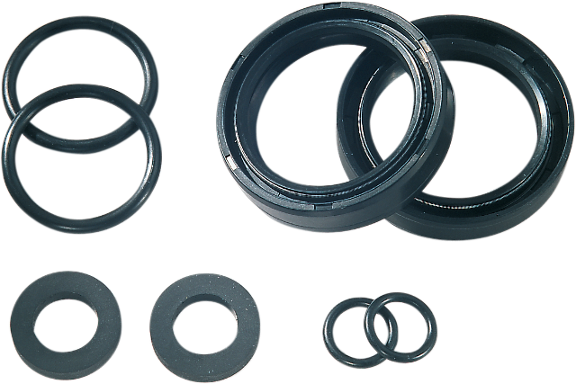James Gasket 41mm Motorcycle Fork Seal kit 84-17 Harley Dyna Touring Softail FXS