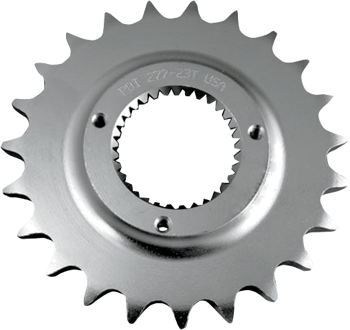 PBI Silver 22 Teeth Mainshaft Front sprocket for 79-85 Harley Touring FL FLH FXE