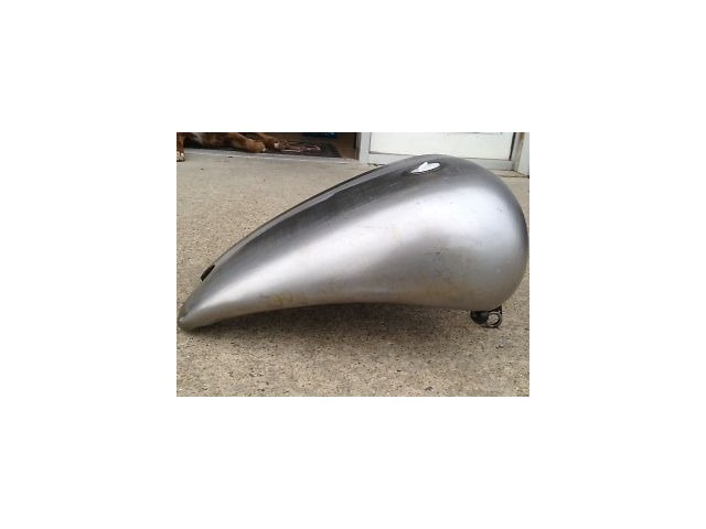 """Ultima 4/"""" Single Cap Stretched 1 Piece 3.8 Gallon Gas Tank For Softail 1984-1999"""