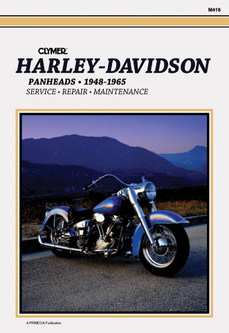 Clymer Service Repair Manual Harley Davidson 48-65 Panhead FL Flh Hydra-Glide