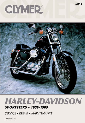 Clymer Service Repair Manual For Harley Davidson Sportster 59-85 Xlch Xl 1000