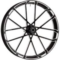 """Arlen Ness Black 23"""" X 3.5"""" Procross Front Wheel for 08-19 Harley Touring FLHX"""