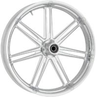 "Arlen Ness Chrome 7 Valve ABS 23"" X 3.5"" Front Wheel for 08-19 Harley Touring"
