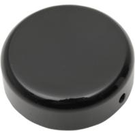 Drag Specialties Black 39mm Front Steering Stem Bolt Cover for 87-08 Harley FXD