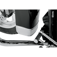 Drag Specialties Front Fender Smooth Chrome Skirt Tip Harley Davidson 80-13 FLHT