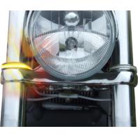 Custom Dynamics LED 43mm Fork Wrap Turn Signals Chrome for 03-17 Victory Vegas