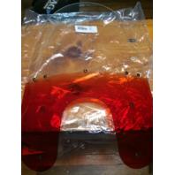 "Memphis Shades 19"" Gradient Burnt Orange Windshield for 88-17 Harley Dyna XL"