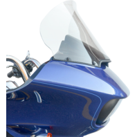 """Klock Werks Pro-Touring 15"""" Flare Clear Windshield for 15-20 Harley Road Glide"""