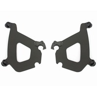 Memphis Shades 07-11 Black Bullet Fairing Mounting Kit Harley Night Rod VRSCDX