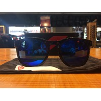 100% Tr90 Electric Blue Mirror Campo Unisex Adult Dual Sport Sunglasses