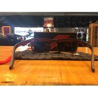 100% Blake Rootbeer Unisex Single Flash Gold Lens Dual Sport Sunglasses
