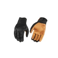 Icon Mens Black Nightbreed Motorcycle Riding Street Racing Riding Gloves