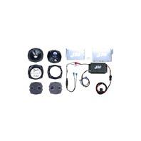 J&M Front Fairing Performance 200W Speaker Kit for 06-13 Harley Touring FLHX
