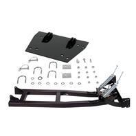 Moose Black Snow Plow Mount & Push Tube Kit for 03-15 Honda TRX 650 680 Rincon