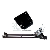 Moose Snow Plow Mount & Push Tube Kit for 09-18 Polaris Sportsman Scrambler