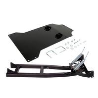 Moose UTV Snow Plow Mounting Plate & Push Tube Kit for 15-18 Kawasaki Mule Pro