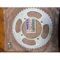 Parts Unlimited 420 Steel 50 Tooth Rear Sprocket for 88-17 Kawasaki KX100 KX85