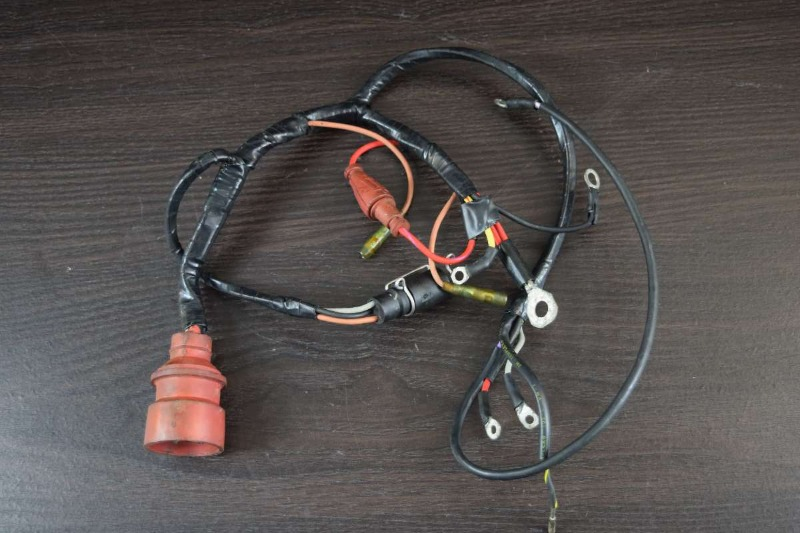 OEM! 1988 Johnson Evinrude Wiring Harness 583602 40 48 50 HP ...  Evinrude Wiring Harness on