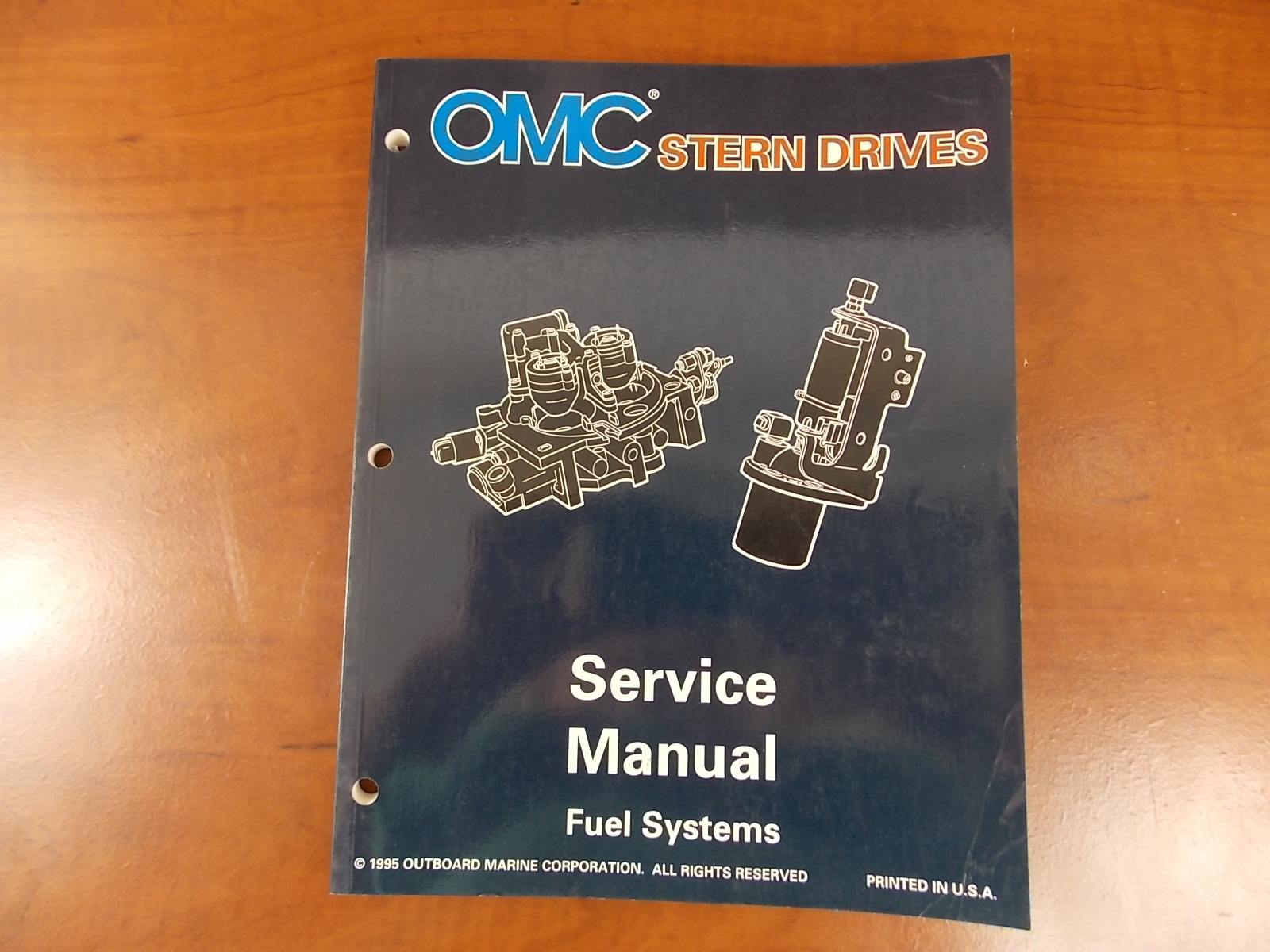 Omc Cobra 3 0l service Manual