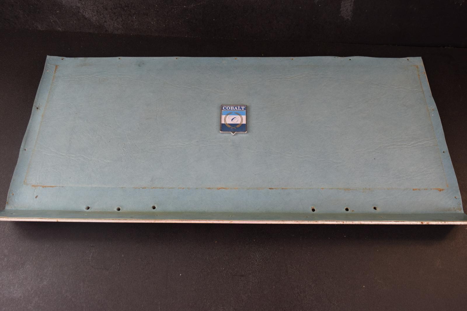 1978 Cobalt Boat Middle Dashboard Panel 26 X 13 Ebay Wooden