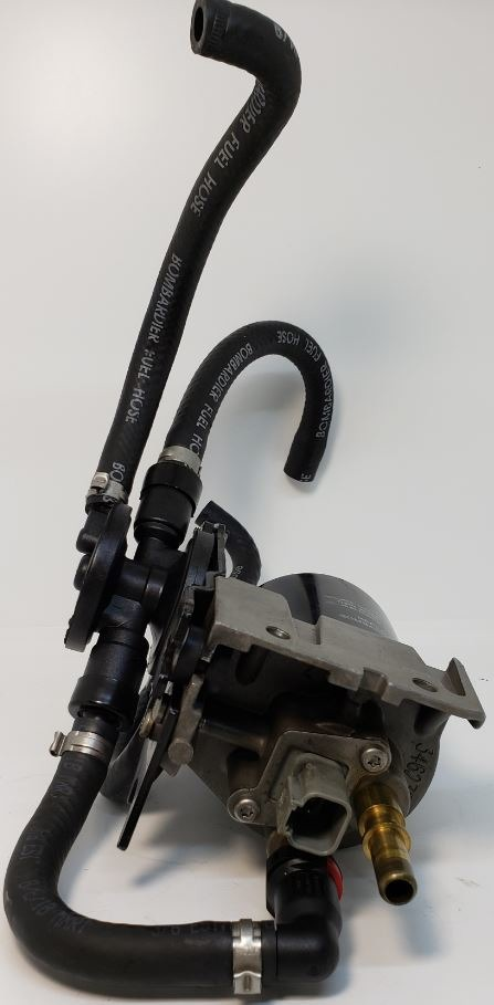 5004455 Johnson Evinrude Ficht 1999- 2001 Fuel Pump & Filter Bracket 135  150 175 HP