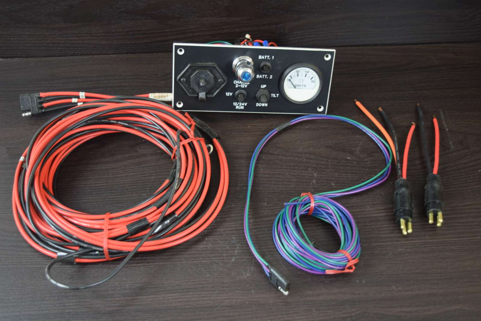 Trolling Motor Harness Wire Center Wiring Marlan Industries Deluxe Panel With 6009 01 Rh Southcentraloutboards Com 36v 4 Pin