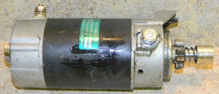 6H4-81800-12-00 6H4-81800-11-00 Yamaha 1984-88 Starter Assembly 40 50 HP TESTED!