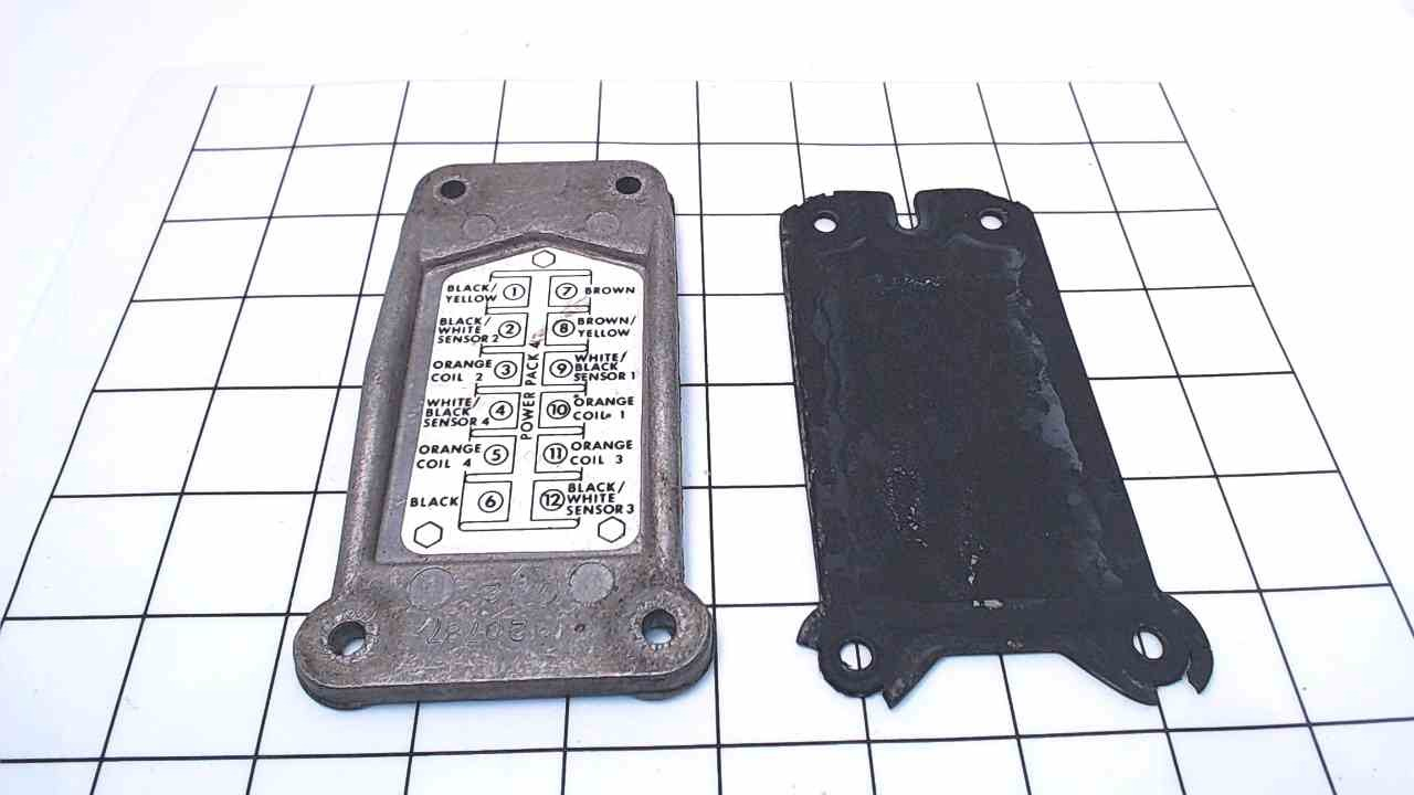 320787 Johnson Evinrude OMC Power Pack Case Cover