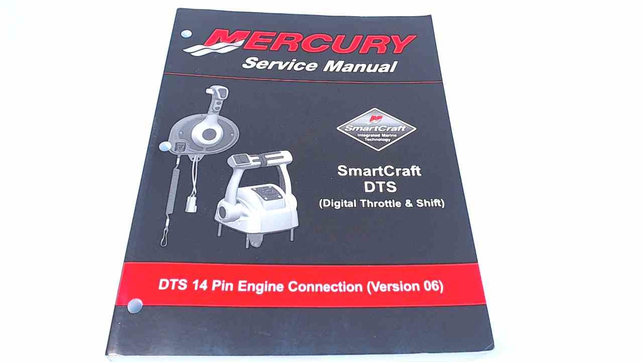 90-897790 Mercury Service Manual DTS 14 Pin Engine Connection (Version 06)